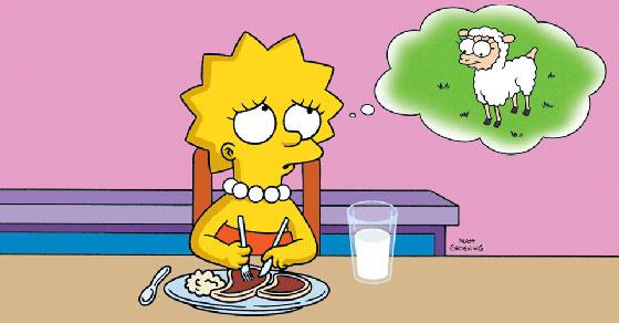 lisa-simpson-vegetarian-facebook